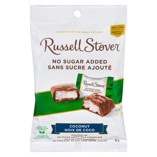 Russell Stover Coconut Milk Chocolates - 85g