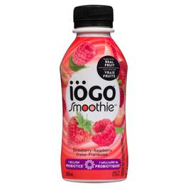 Iögo Strawberry-Raspberry Smoothie 0% M.F. - 200ml