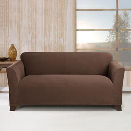 Surefit Stretch Morgan Chocolate Slipcover for Loveseat - 1pc.