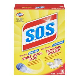 SOS Cleaning Pads - 18pk.