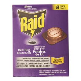Raid Bed Bug Detector and Trap - 8pck