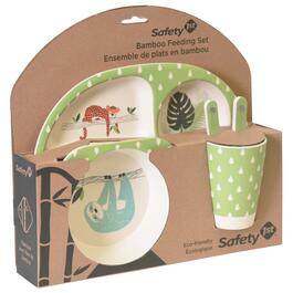 Safety 1st Bamboo Feeding Set - Jungle