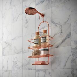 Metaltex Copper Shower Caddy