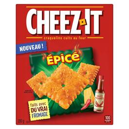 Cheez-It Hot and Spicy Baked Snack Crackers - 200g