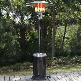 Paramount Black and Stainless Patio Heater