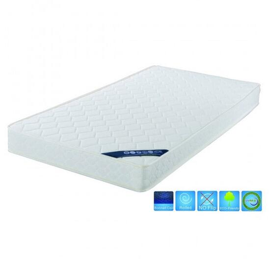 Brassex 6.5in. Bonnell Coil Queen Mattress in a Box