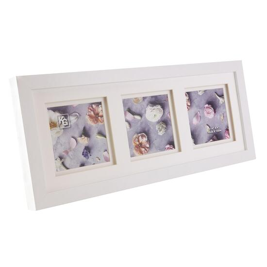 KG Morgan Double Mat White Frame - 6.6in.x6.6in.