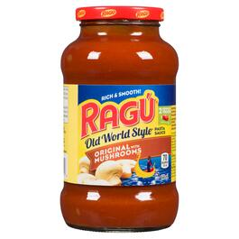 Rag√∫ Old World Style Original with Mushrooms Pasta Sauce - 640ml