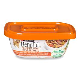 Purina Beneful Prepared Meal Chicken Dog Food - 283g