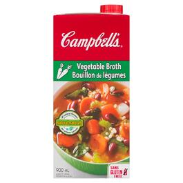 Campbell's Vegetable Broth - 900ml