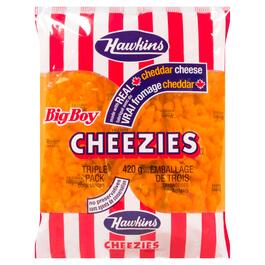 Hawkins Big Boy Cheezies 3pk. - 420g