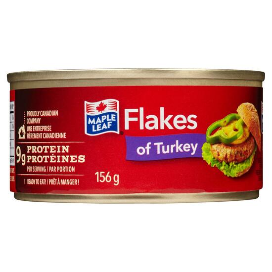Maple Leaf Flakes of Turkey - 156g