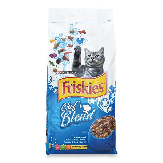 Purina Friskies Chef's Blend Cat Food- 3kg
