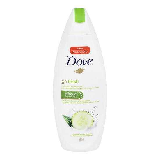 Dove Go Fresh Cool Moisture Body Wash - 354ml