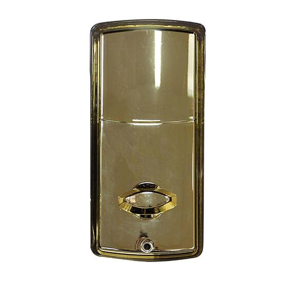 Tough Guard Ornate Electronic Deadbolt - Polish Brass