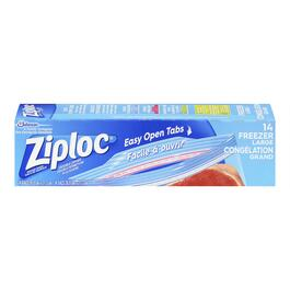 Ziploc Large Freezer Bags with Smart Zip - 14pk.