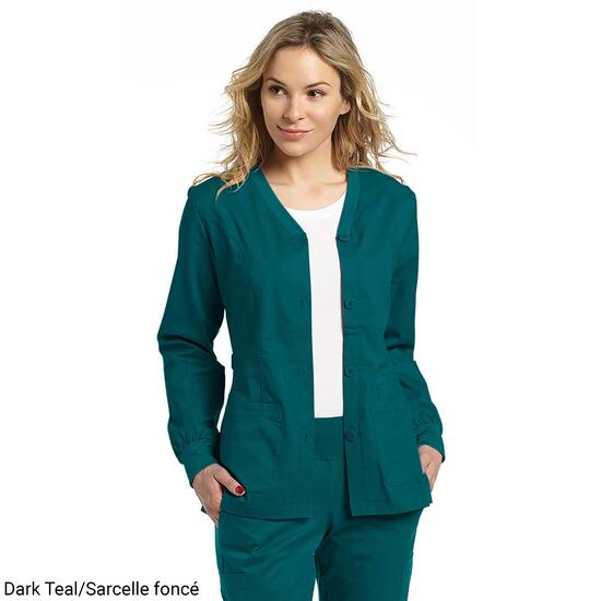 White Cross Women's Warm-Up Scrub Jacket - XS-XL