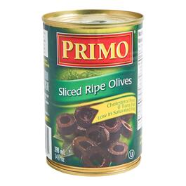 Primo Slice Ripe Olives - 398ml