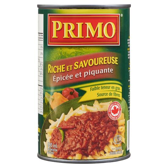 Primo Thick and Zesty Hot and Spicy Pasta Sauce - 680ml