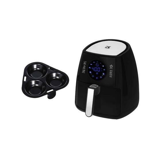 Kalorik Digital Airfryer with Egg Poacher - 3.2 qt