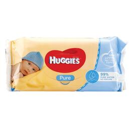 Huggies Pure Baby Wipes - 56pk.