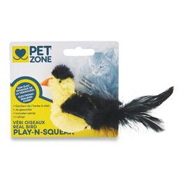 Pet Zone Play'n Squeak Bird Cat Toy