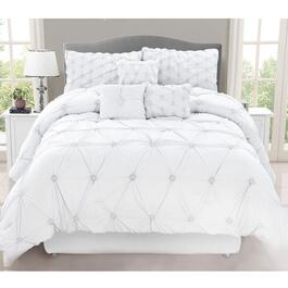 Safdie & Co. Chateau Double Premium Comforter Set - 7pc.