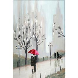 In the Rain Canvas Art - 24in. x 36in.