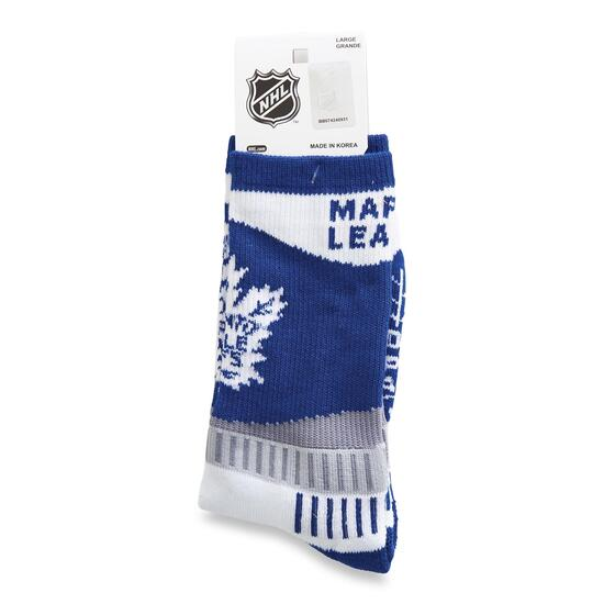NHL Toronto Maple Leafs Men's Crew Socks - 10-13