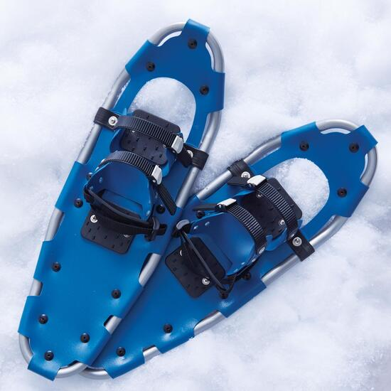 Mountain Ridge Adult Blue Snowshoes