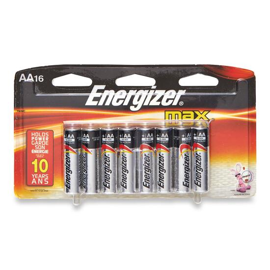 Energizer AA Batteries - 16pk.