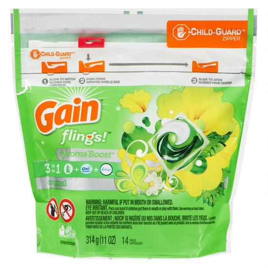 Gain 3-in-1 with Aroma Boost Capsules - 14pk.