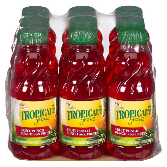 Tropical Grove Fruit Punch 9pk. - 300ml