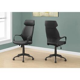 Monarch Specialties High Back Office Chair - Black