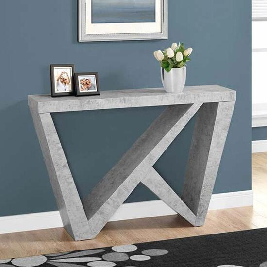 Monarch Specialties Inc. Hall Console - Cement - 48 in.