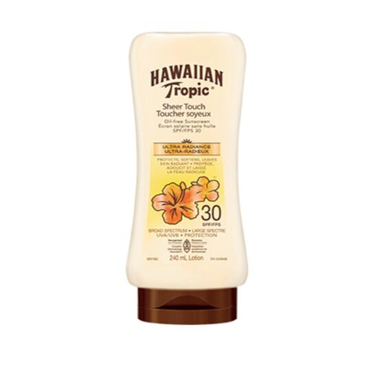 Hawaiian Tropic Sheer Touch SPF 30 Oil Free Sunscreen Lotion - 240ml