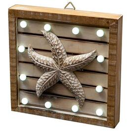 LED Starfish Wall Art