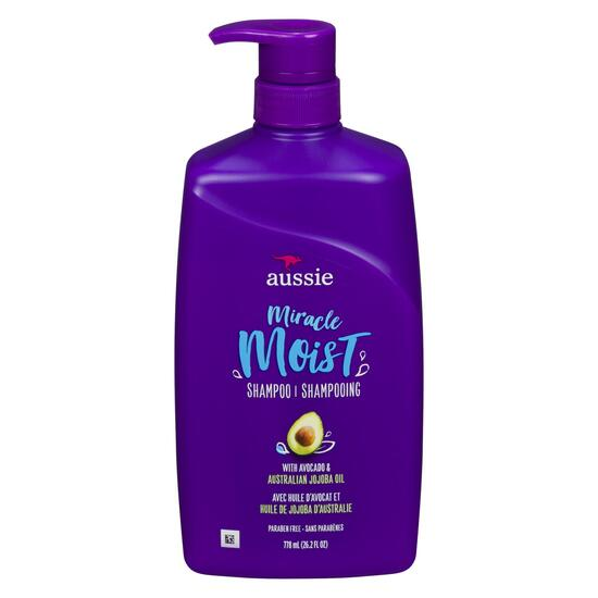 Aussie Miracle Moist Shampoo - 778ml