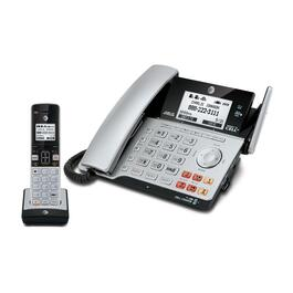 AT&T TL86103 2-Line Corded/Cordless Phone System with Answering Machine