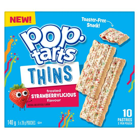 Pop-Tarts Frosted Strawberrylicious Thins 5pk. - 140g