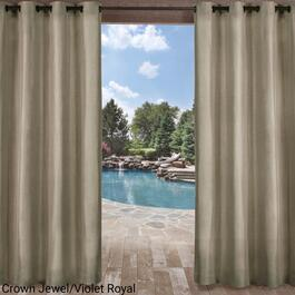 Exclusive Home Biscayne Indoor Outdoor Curtain Panel 2pc. - 96in.