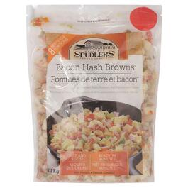 Spudlers Bacon Hash Browns - 1.2kg
