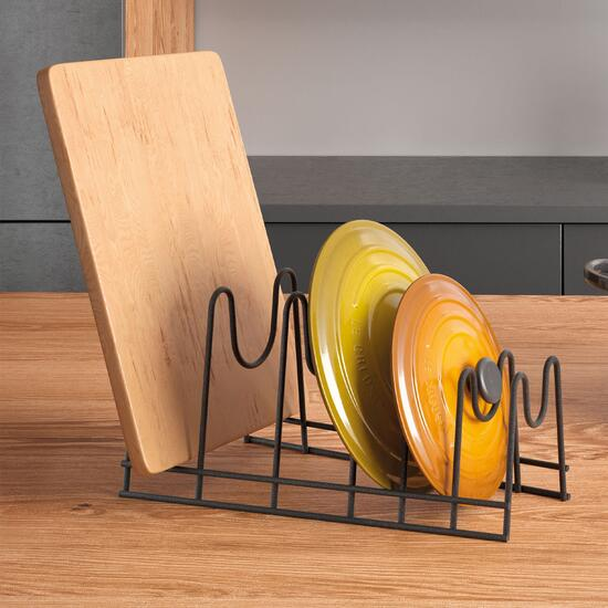 Metaltex Lido Lava Plate and Tray Rack