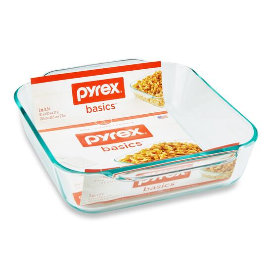 Pyrex Baking Dish - 8in.