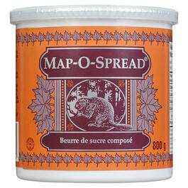 Map-O-Spread Composed Sugar Spread - 800g