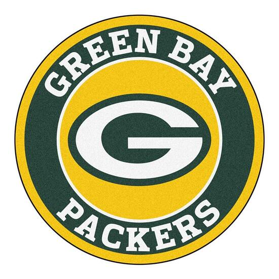 NFL Green Bay Packers Roundel Mat - 27in.