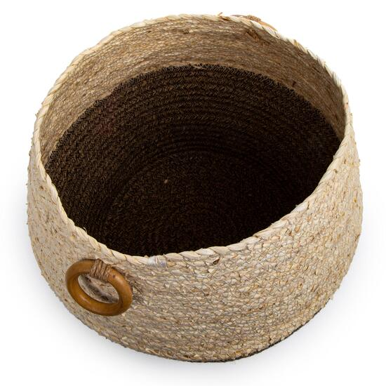 Truu Design Decorative Rope Planter Basket - 9in. x 12in.