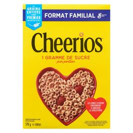 Cheerios Cereal Family Size - 570g