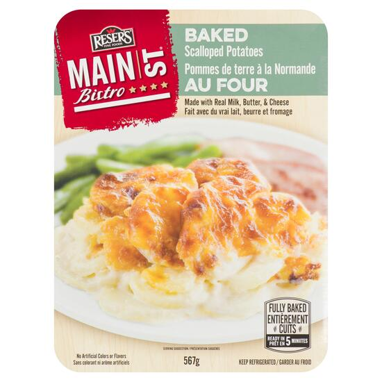 Reser's Fine Foods Main St Bistro Baked Scalloped Potatoes - 567g
