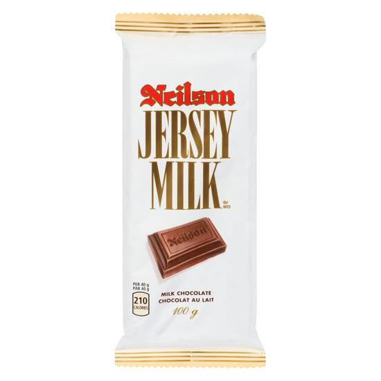 Neilson Jersey Milk Chocolate Bar - 100g